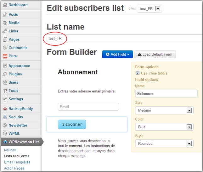 How to Use Multilingual Subscription Form with WPNewsman