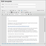 Customize email templates in WPNewsman